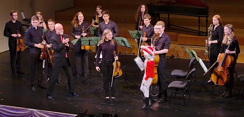 Weihnachtskonzert Musikschule 30.11.2019