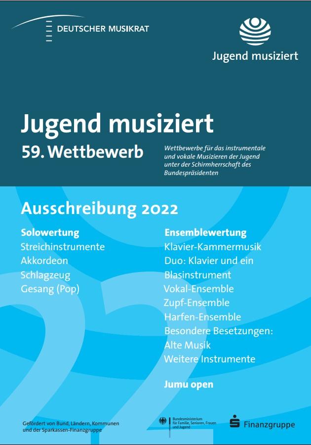 Jugend musiziert 59.Bundeswettbewerb Oldenburg